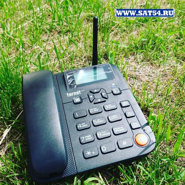 """Пожалуй  один из самых мощных и чувствительных телефонов в классе """"Стационарные сотовые   телефоны"""".  Termit Fixfone. Обзор на сайте www.sat54.ru в Новосибирске"""