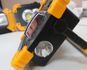 светодиодный  аккумуляторный прожектор TRLIFE 143. Из обзора на сайте www.sat54.ru