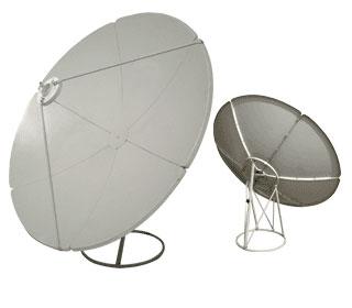 Прямофокусная спутниковая антенна SVEC 180-G крепление на плоскость