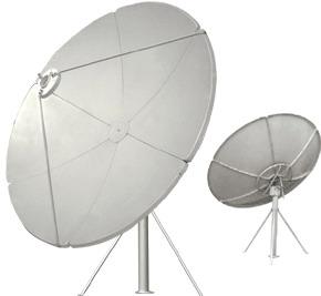 Прямофокусная спутниковая антенна SVEC 180P крепление на трубу