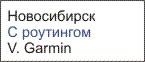 Отличные карты Новосибирска Garmin
