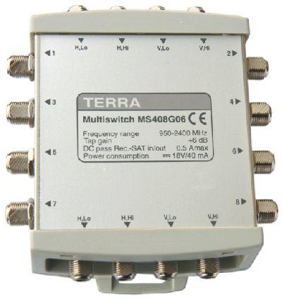 Мультисвитч Terra MS408G06