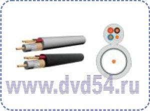 Кабель видеонаблюдения VCC-4 (100м- бухта)
