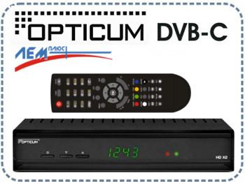 DVB-C ресивер OPTICUM HD XC2