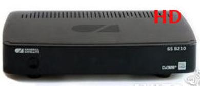 Спутниковый ресивер GS B210.MPEG2 / MPEG4,USB2.0,DVB-S/S2, HDMI, 3RCA