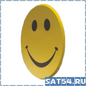 Офсетная спутниковая антенна Smile-90 (90x90см)