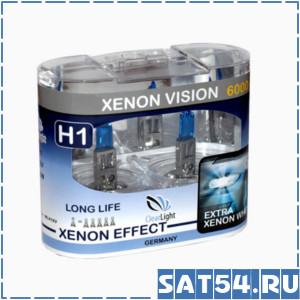 Лампа галогеновая Clearlight  H1 12V-55W XenonVision