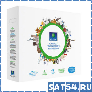 Комплект спутникового ТВ НТВ ПЛЮС HD