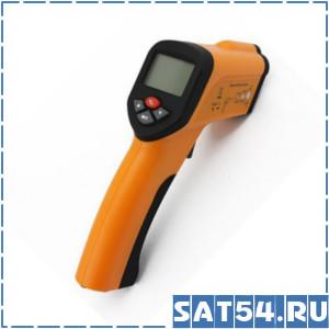 Инфракрасный пирометр/термометр бесконтактного типа с ЖК и лазерной подсветкой.
