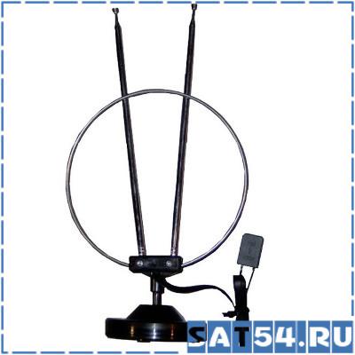 Антенна комнатная Orbiton  К1 цифровая (МВ-ДМВ/DVB-T2/3дБ)