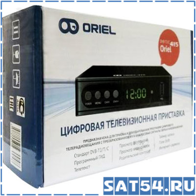 Ресивер DVB-T2/C ORIEL 415D