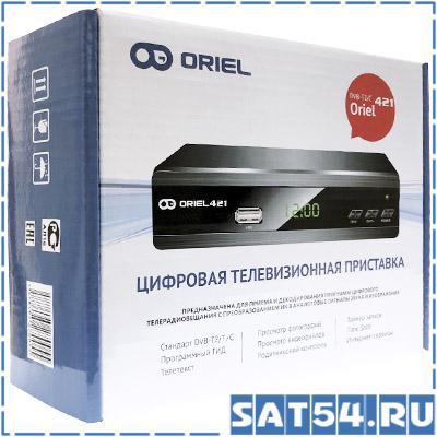 Ресивер DVB-T2/C ORIEL 421D/UD