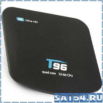 Сетевой медиаплеер T96 4K (Cortex A7 1.5 Гц, Android 7,1, 1Гб, Flash 8ГБ, Wi-Fi)
