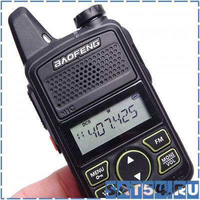 Рация Baofeng BF-T1 (Baofeng mini radio)