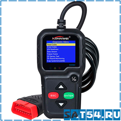 Автосканер KONNWEI KW-680 (тестер АКБ)