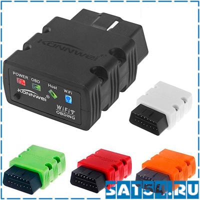 Автосканер OBD KONNWEI KW-902 (OBD2, V2.1, Wi-Fi)