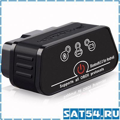 Автосканер OBD KONNWEI KW-901 Bluetooth (OBD2, V2.1)