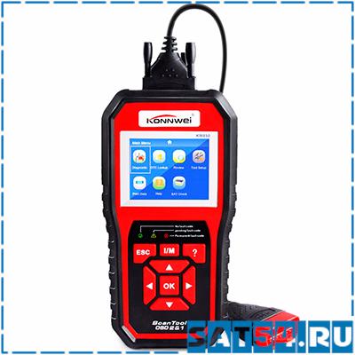 Автосканер KONNWEI KW-850-1 (OBD II и CAN)