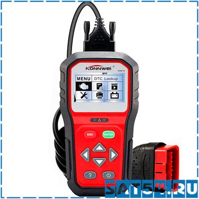 Автосканер KONNWEI KW-818 (OBD II и CAN)
