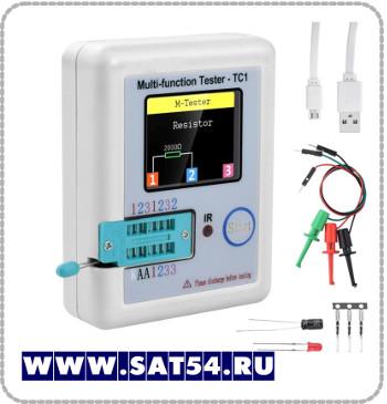 Тестер мультиметр электронных компонентов TC1