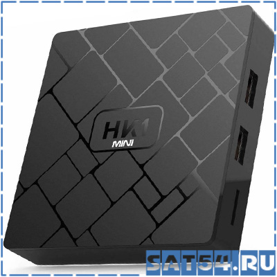 Сетевой медиаплеер HK1 Mini (Cortex A53/ 2.4Гц/ Android 9.0/2Гб/Flash 16Гб/ Wi-Fi)