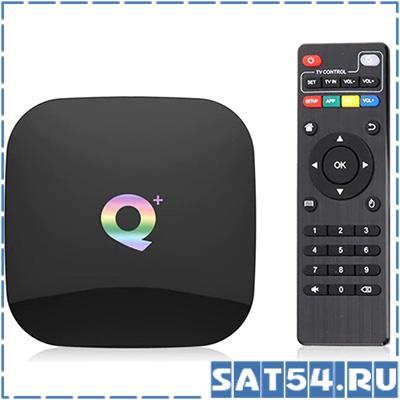 Смарт ТВ приставка Q+ (Android 9.0 4GB/64GB)