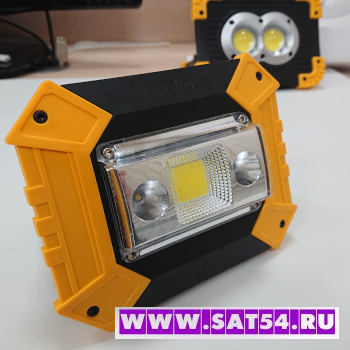 Переносной светодиодный аккумуляторный прожектор-фонарь TRLIFE 144