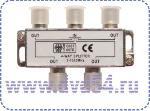 Splitter-4 ТВ под F разъем 5-1000 MHz