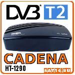 DVB-T2 приемник CADENA HT-1290