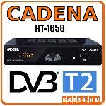 DVB-T2 приемник CADENA HT-1658