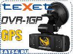TEXET DVR-1GP - видеорегистратор с GPS