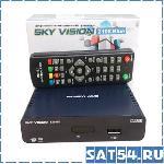 Приставка цифрового ТВ (DVB-T2) Sky Vision T2108b (синяя)