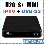 Приставка цифрового IPTV телевидения U2C S+ MINI.