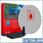 Спутниковый комплект МТС ТВ с ресивером DVB-S2 Sky Worth HSD11