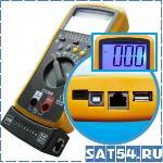 Мультиметр + тестер кабеля DT4300A