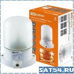 Светильник TDM НПБ 400 для сауны настенно-потолочный белый, IP54, 60Вт