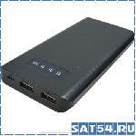 Внешний аккумулятор LS-3236 (8000mAh, 5V, 1USB-1000mA, 2USB-2000mA, пластик)