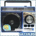 Радиоприемник FEPE FP-1320 (USB, SD, Микрофон, Аккумулятор, 220V)