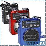 Радиоприемник FEPE FP-1325U (Фонарик, USB, TF, SD, Микрофон, Аккумулятор, 220V)