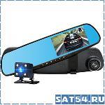 Автовидеорегистратор зеркало + камера HAD-39