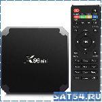 Цифровой IP-TV ресивер X96 mini (4 ядра/ОЗУ 2 Гб/ПЗУ 16ГБ/WiFi)