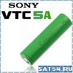 Аккумулятор 18650 высокотоковый (40А, 2500mA) Sony VTC5A Li-Ion