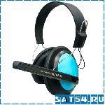 Большие наушники с микрофоном HYUNDAI HY-H9040 (20 Гц-20,000 Гц, шнур 2м)