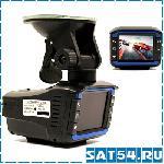 Автомобильный видеорегистратор VGR-3 (V8) + радар-детектор