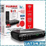 Приставка цифрового ТВ (DVB-T2) LUMAX DV1108HD