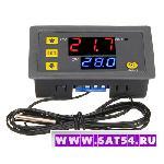 Термостат терморегулятор W3230 (220В/20А) с ЖК и термопарой