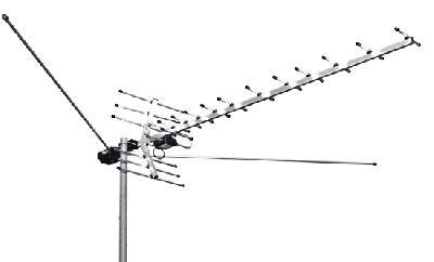 Антенны широкополосные L 021.12 - L 025.12