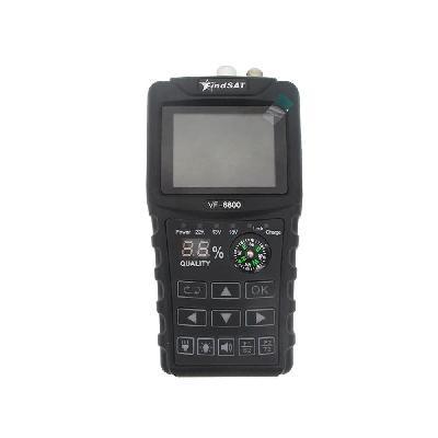 Комбинированный измерительный прибор для настройки спутниковых и эфирных антенн FindSAT VF-6800 (DVB-S/S2/T2/C, жк экран, анализатор спектра, компас,  фонарик)